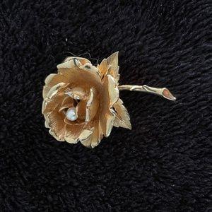 Vintage Marcel Boucher Rose brooch